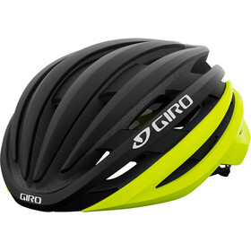 Giro Cinder MIPS Casco, matte black fade/highlight yellow